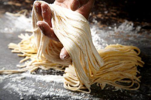 congélation des pâtes fraîches